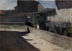Foto: Giuseppe Pellizza da Volpedo , Vecchio Mulino a Volpedo, 1903