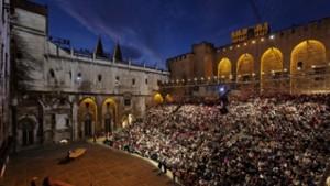 Foto: momento del Festival del Teatro di Avignone