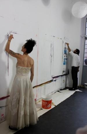 Foto di scena: Perdormance #00, open studio day allo Spazio Nour di Milano