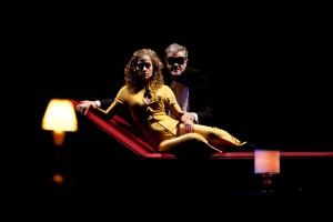 """Foto di scena: Caterina Bajetta, Gaetano Callegaro in """"Sogno (ma forse no)"""" di Luigi Pirandello al Teatro Litta di Milano"""