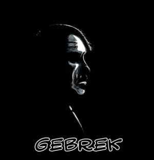 """Foto: copertina della Graphic Novel """"Gebrek"""", testo di Claudio Elli, adattamento e illustrazioni di Alex Miozzi, Ed. Nuvole & Strisce"""