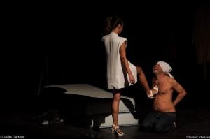 """Foto di scena: Federica D'Angelo, Luca Cairati in """"Un sogno"""" da Shakespeare al Teatro Oscar di Milano"""