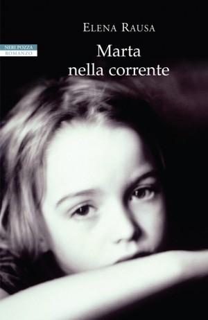 """Foto: copertina libro """"Marta nella corrente"""" di Elena Rausa"""