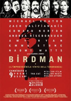 "Foto: locandina film ""Birdman"""