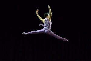 Foto: Liliana Cosi, salto ballerino glicine, Gala di balletto al Teatro Manzoni di Milano
