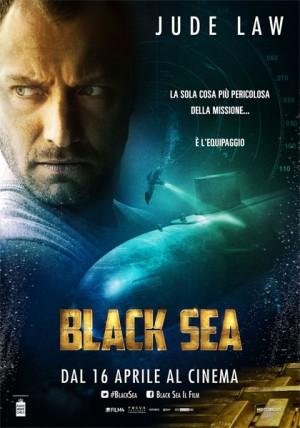 Foto: locandina Black Sea, in uscita nelle sale italiane il 16 aprile 2015