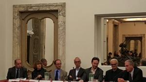 """Foto: presentazione  libro """"Il destino è solo una scusa"""" al Circolo della Stampa di Milano giovedì 12 novembre 2015"""