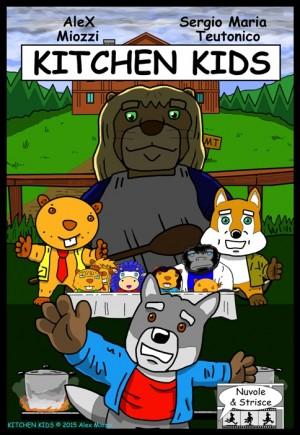 Foto: copertina Kitchen Kids, Ed. Nuvole & Strisce