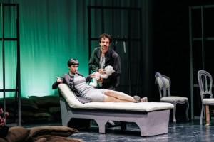 Foto di scena: Gl'innamorati da Carlo Goldoni – Elena Cotugno e Giampiero Borgia, al Teatro libero di Milano dall'11 al 17 aprile 2016