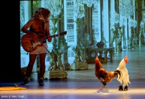 Foto di scena : 4 di Rodrigo Garcia, andato in scena al CRT Teatro dell'Arte di Milano dal 28 al 30 giugno 2016