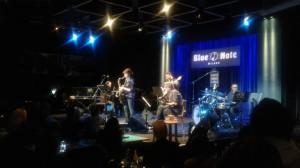 Foto del concerto al Blue Note di Milano il 3 novembre 2016. Al centro Ada Rovatti