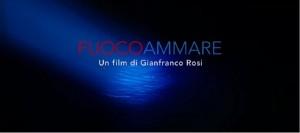 Foto: locandina italiana Fuocoammare (frammento)