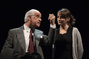 Foto di scena: Elvira, Toni Servillo, Petra Valentini, al Piccolo Teatro di Milano Paolo Grassi dall'11 ottobre al 18 dicembre 2016