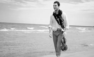 Foto: il violinista Stefan Milenkovich