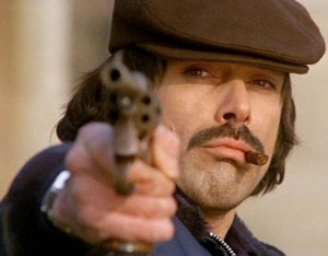 Foto: Tomas Milian , screenshot dal  film Squadra volante