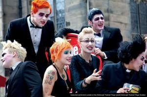 Foto: performer in costume, Edinburgh Fringe Festival, dal 4 al 28 agosto 2017