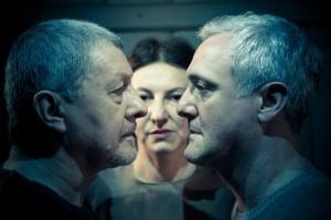 Foto di scena: Solaris – Da sin. Antonio Rosti, Debora Zuin, Giovanni Franzoni - Festival Senses, a Pacta Salone di Milano dal 18 al 28 maggio 2017