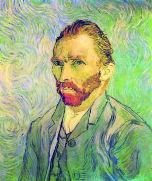 Foto: Vincent Van Gogh, autoritratto, 1889 – Olio su tela, cm. 65 x 54, Museo d'Orsay, Parigi
