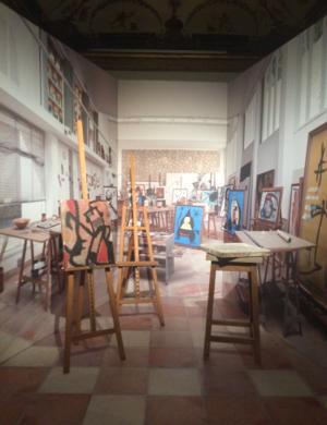 Foto: Mirò! Sogno e colore, particolare della mostra - A Palazzo Albergati di Bologna fino al 17 settembre 2017