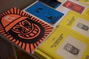 Cataloghi e serigrafie di Vito Manolo Roma (Archivio dell'Artista)