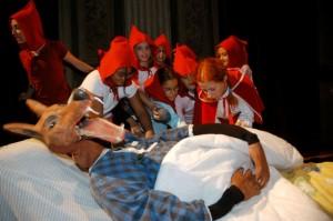 Foto di scena: Cappuccetto Rosso, Casa delle Storie