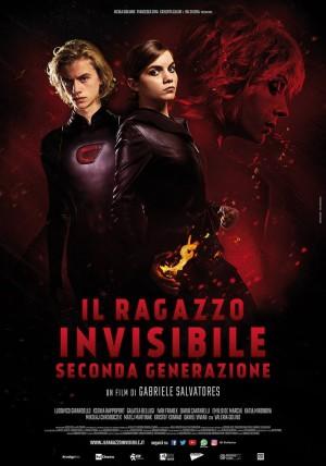 """Foto: locandina """"il ragazzo invisibile – Seconda generazione"""""""