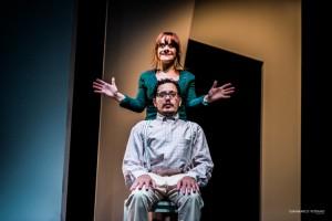 Foto di scena: Delirio bizzarro, Cristiana Minasi e Giuseppe Carullo, al Teatro i di Milano dal 24 al 29 gennaio 2018
