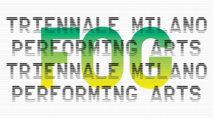 Foto: logo FOG Triennale Milano Performing Arts 9 marzo - 5 giugno 2018