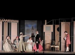Foto di scena: Le Morbinose di Carlo Goldoni, al Teatro Gerolamo di Milano il 16 e 17 febbraio 2018