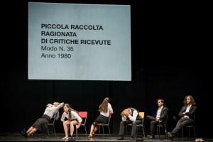 Foto di scena: Architettura addio, al Teatro Litta di Milano dal 10 al 18 marzo 2018